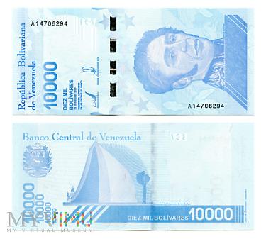 10 000 Bolívares Soberano 2019 (A 14706294)