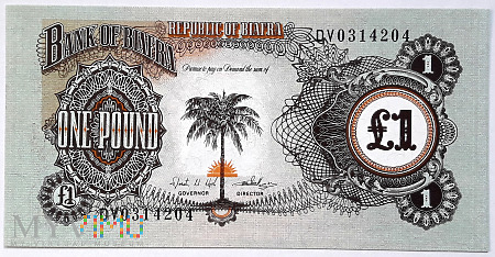 Biafra 1 funt 1968
