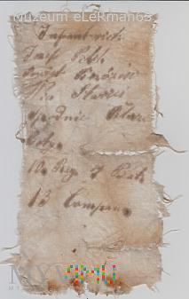 Metka z Infanterieregiment Nr. 10. Przemyśl