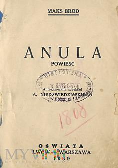 Powieść ,,Anula