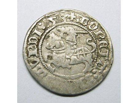 Półgrosz litewski-1513 r rzadki