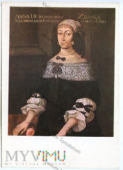 Portret Anny Zbąskiej - 1971