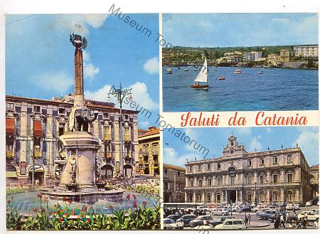Catania - Wielowidokowa - 1971