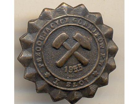 Zlot Przodujących Górników PW 1955