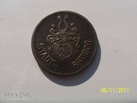 MONETA ZASTĘPCZA RACIBÓRZ - 50 Pf- 1919 rok