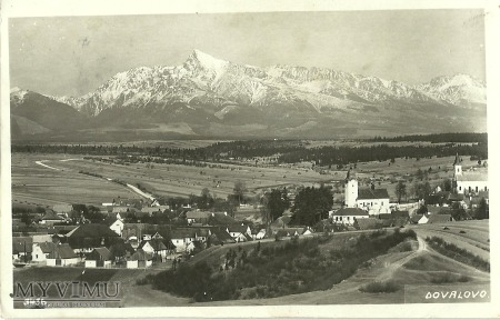Słowacja - Dovalovo - 1934 r.