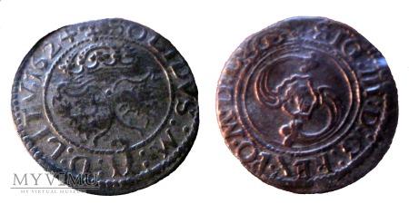 Szeląg Zygmunt III Waza 1624