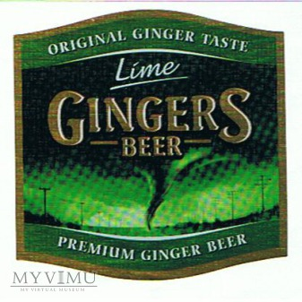 gingers beer lime