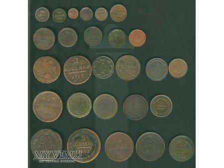 Duże zdjęcie monety Rosji zestawienie