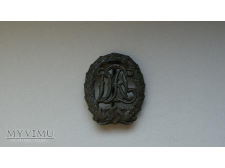 Deutsches Reichsabzeichen für Leibesübungen Bronze