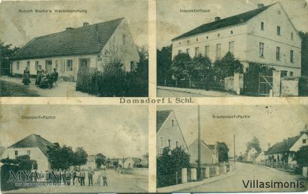 Damianowo-Gruss aus Damsdorf kr. Striegau i. Schle