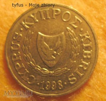 Duże zdjęcie 2 CENTS - Cypr (1998)