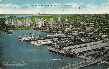 USA - THE BUSY PORT OF MIAMI