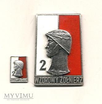 Wzorowy Żołnierz Wojska Polskiego wz.1968 r.