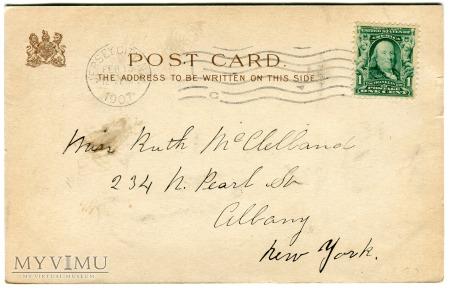 1907 WALENTYNKI Raphael Tuck & Sons E. Curtis