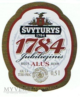 švyturys 1784 jubiliejinis