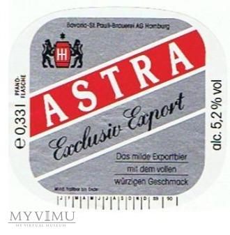 astra exclusiv export