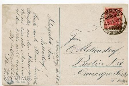 Karkonosze Strzecha Akademicka Hampelbaude 1919