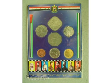 Pamiątkowy zestaw monet irackich