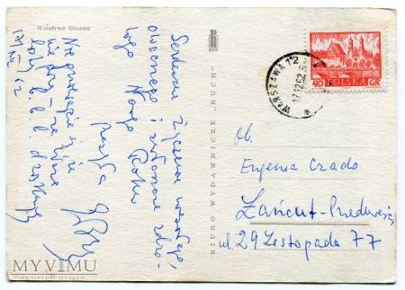 1962 Nowy Rok i Zegary PRL Wiesława Grosset