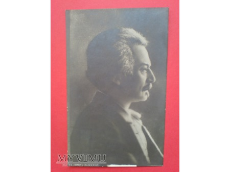 Ignacy Jan Paderewski Pocztówka Zdjęcie