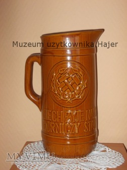 Stary dzban do piwa Karczma Piwna Barbórka