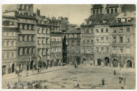 W-wa - Stare Miasto - Rynek - 1930-te