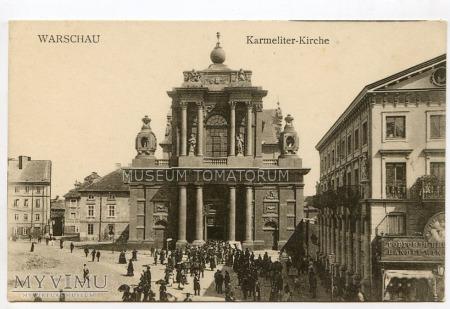 W-wa - Kościół Karmelitów - 1915 ok.