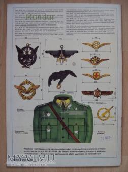 Oznaki specjalności lotniczych 1918- 1990