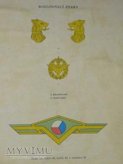 Odznaka ČSLA do koszulobluzy wz. 62/63