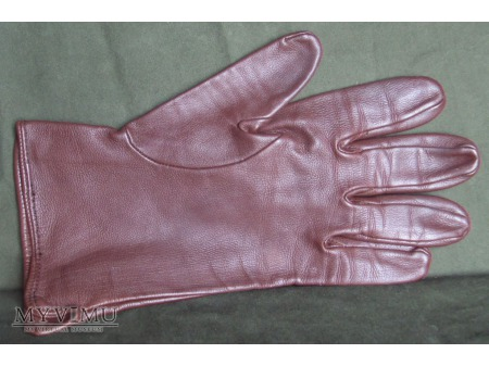 Rękawice skórzane brązowe letnie LWP