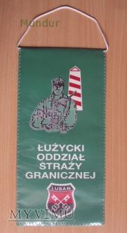 Proporczyk - Łużycki Oddział Straży Granicznej