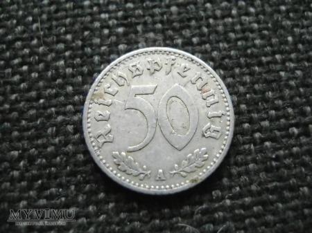 50 pfennigów 1935 A