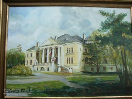 Obraz olejny Liceum Ogólnokształcące Otwovk