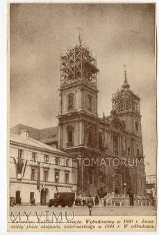 W-wa - Kościół Świętego Krzyża - 1951