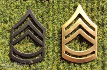 US Army: oznaka stopnia - Sergeant First Class