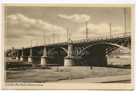 W-wa - III Most - Poniatowskiego - 1930-te