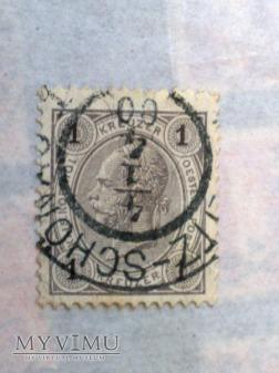 Franz Joseph 1890 1 Krajcar austro-węgierski