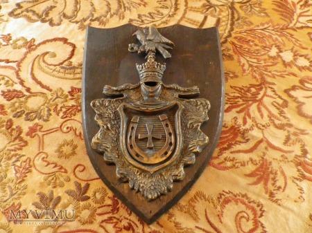 Herb Jastrzębiec-tarcza herbowa /ryngraf II