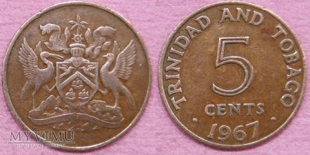 Trynidad i Tobago, 5 CENTS 1967