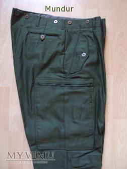 Szwecja: mundur polowy m/69 spodnie
