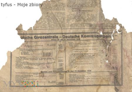 22 Nieznana niemiecka gazeta 31 grudzień 1939