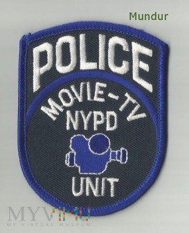 Emblemat: NYPD POLICE TV-Unit