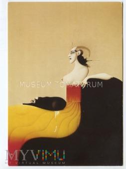 Wunderlich - Kobieta z psem - 1984
