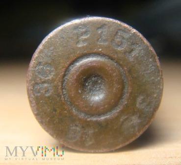 Łuska 7,92x57 Mauser 1936r. P151
