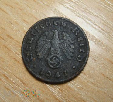 1 pfennig 1941 , D - Monachium