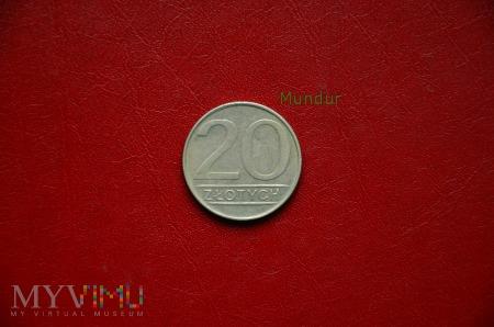 Moneta: 20 złotych