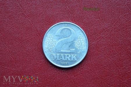 Moneta DDR: 2 mark