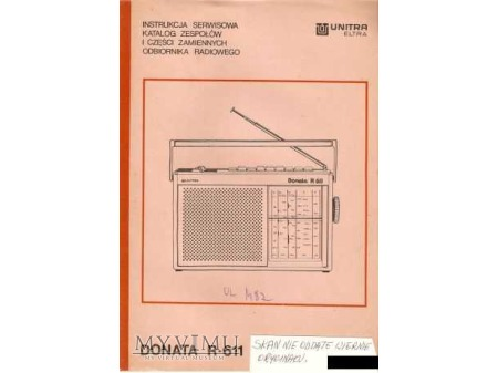 Instrukcja radia DONATA