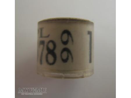 OBRĄCZKA 0378 - Straszewo (1999)